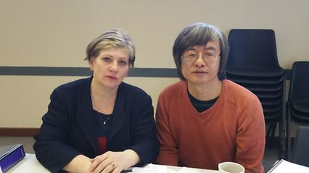 Islington South and Finsbury MP Emily Thornberry met with Dr Shao Jiang at a recent constituency cof