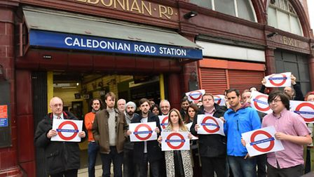 Commuters launched a petition against the Caledonian Road Station closure in October