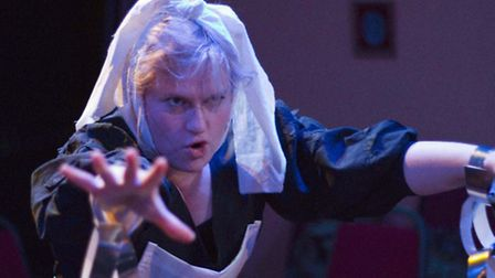 Lottie Davis as The Ghost of Marley in Victorian and Gay. Picture: Pete O'Shea