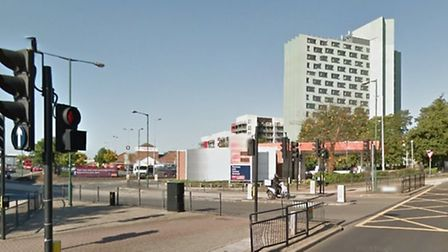 The boy was hit on Glacier Way at the junction of Ealing Road (pic: Google)