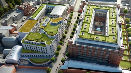 The 500,000 sq ft development at the site of the former North London Sorting Centre off Upper Street
