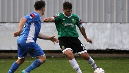 Ben Pattie scored his first goal for Hendon in Saturday's defeat against Leiston