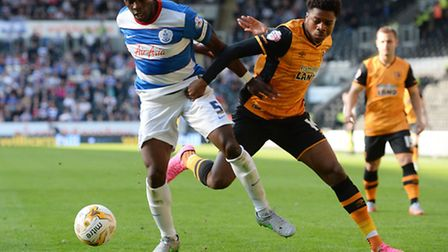 Nedum Onuoha (left) is realistic about QPR's chances of promotion