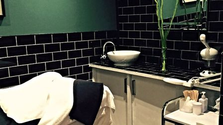 One of the six treatment rooms at Kimantra Spa, Camden Passage