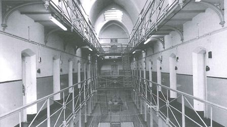 Inside HMP Holloway in 1970. Picture: English Heritage