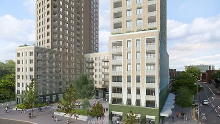 How the proposed tower blocks will look