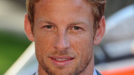 Jenson Button will be at Wembley Park tomorrow. Pic by Anthony Devlin/PA