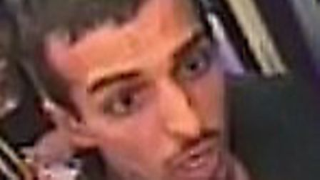 Police want to speak to this man after a series of attacks and robberies on night bus passengers en