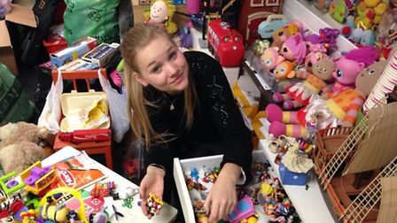 TOY Project volunteer Jess Doyle. Picture: TOY Project