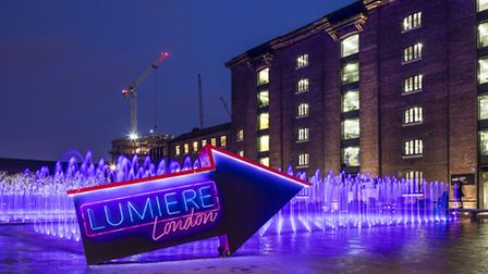 Lumiere Arrow, Granary Square, King's Cross