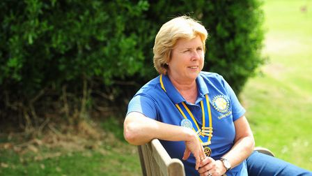 A woman has been recognised for her outstanding services in nursing and community fundraising in thi