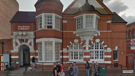 """Kilburn library will be closed """"until further notice"""" while repairs are carried out following a fire"""