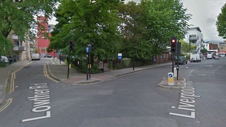 Police said the incident occured in Liverpool Road, Holloway, near its junction with Lowther Road. P