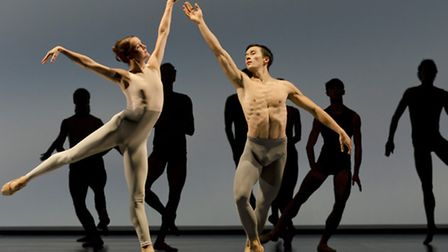Outlier, Company Wayne McGregor. Picture: Andrew Lang