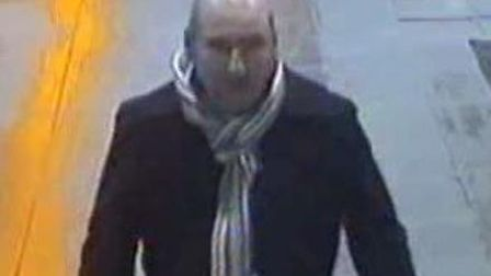 British Transport Police are trying to identify this man in connection with an assault at King's Cro