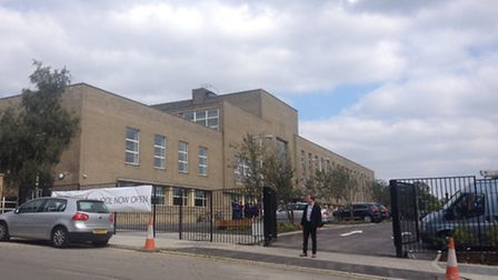 Lycee International de Londres Winston Churchill is housed within the former Brent Town Hall buildin