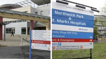 The trust manages four hospitals