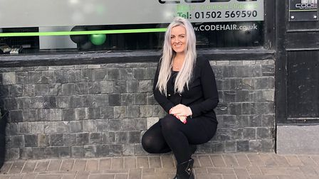 Laura Bull, manager of CODE, a hair salon in Oulton Broad. Picture: Courtesy of Laura Bull.