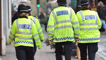 Dollis Hill officer Sgt Wappat is warning residents not to open their doors to suspect callers