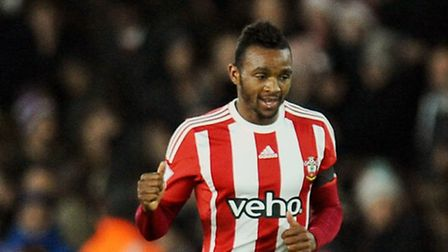 Southampton's Cuco Martina celebrates scoring his side's first goal against Arsenal