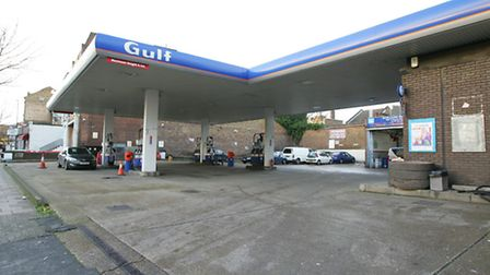 Warren Service Station, in Holloway Road. An Esso garage just half a mile away, in Hornsey Road, sel