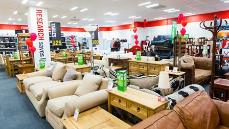 The new BHF furniture and electrical store in Holloway