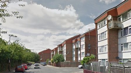 The stabbing took place in Besant Way (Pic: Google)