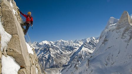 Meru Expedition, Garwhal, India. Picture: Jimmy Chin