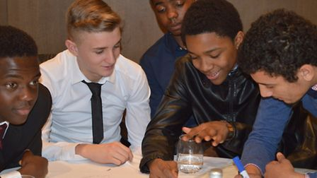 Over 70 young people were in attendance at the Hilton hotel in Wembley on Monday for the Hyde Develo