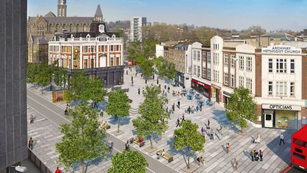 An artist impression of the new plans for Archway
