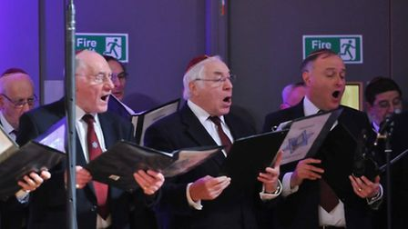 London Cantorial Singers gave a solemn and poignant performance