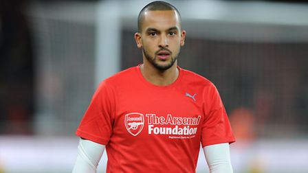 Arsenal's Theo Walcott before the Gunners' home game against Manchester City in December. Players wo