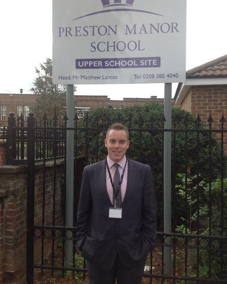 Colin Hegarty is a teacher at Preston Manor School