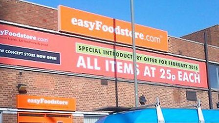 The pilot store will reopen tomorrow (Pic: Twitter@easyFoodstore)