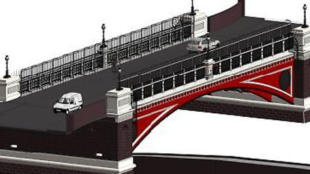 The anti-suicide measures due to be installed at Archway Bridge
