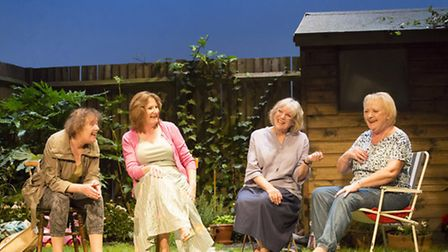 Escaped Alone by Caryl Churchill. Picture: Johan Persson