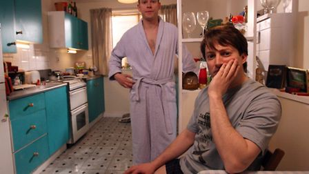 Robert Webb, left, played Jez in Peep Show, alongside David Mitchell as Mark. Picture: Ian West/PA