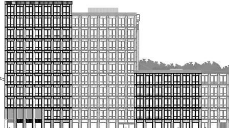 The proposed 11-storey tower block by Bunhill Fields