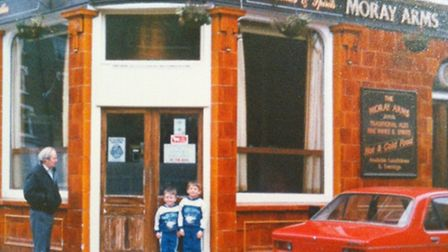 The Moray Arms pub, in Finsbury Park, in its heyday