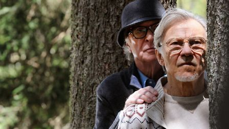 Michael Caine and Harvey Keitel in Youth. Picture: Gianni Fiorito