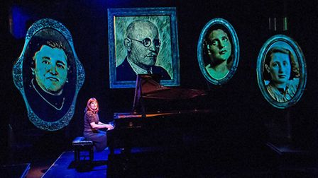 Mona Golabek in The Pianist of Willesden Lane at St James Theatre. Picture: Tristram Kenton