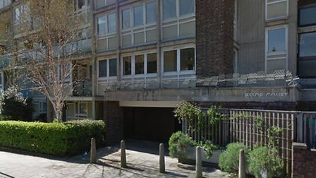 A woman was stabbed in the throat in Jessop Court, Graham Street in Islington on Sunday