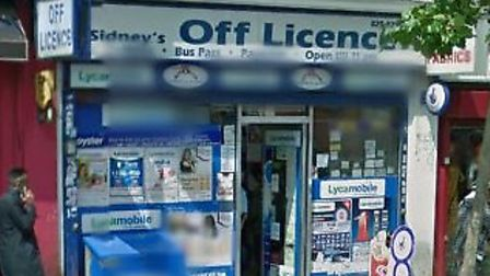 Sidneys off-licence is in Ealing Road (Pic: Google)