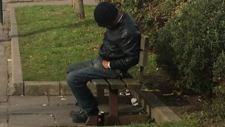 A customer found drinking in the park (Pic: Brent Council)