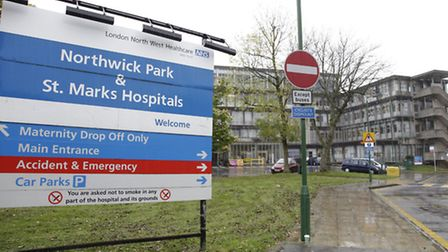 Mrs Cooper died at Northwick Park Hospital
