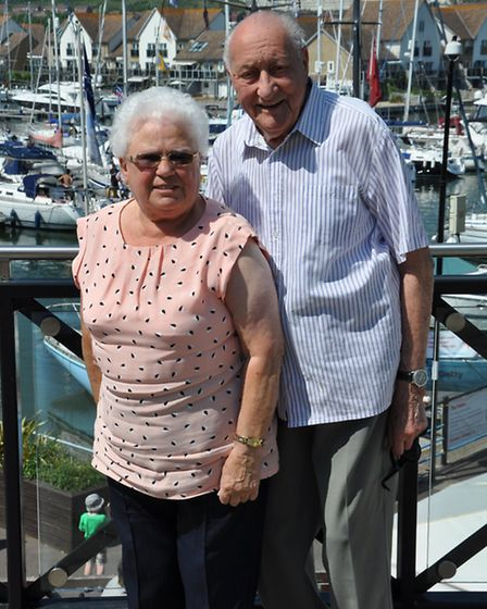 Irmgard and Raymond Cooper had been married for 62 years