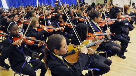 Some music tuition lessons funded by the specialist music school are also understood to be under thr