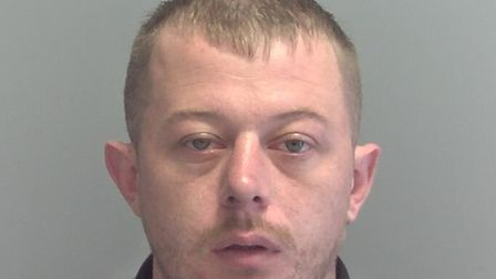 27-year-old Kenin Fox, from Lowestoft, is being sought by officers from Suffolk Constabulary in conn