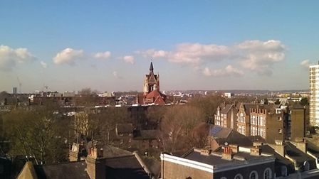 Views from the top of Canonbury Tower