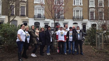 Islington Council planted a cherry blossom tree in Alan Cartwright's memory on Friday evening. The t